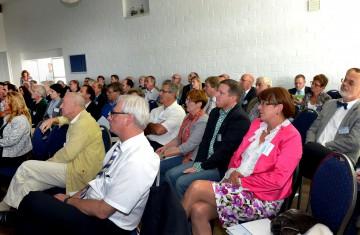 Symposium des Unternehmen Holemans mit Expertenvorträgen