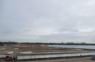 Wasser-Recyclinganlage am Kieswerk Ellerdonk (Wesel-Bislich)