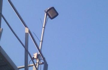 Energiesparende Beleuchtung im Kieswerk Lipperandsee