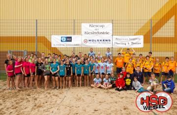 HSG Wesel Beachhandball Jugendturnier 7. Kiescup 2013 Sonntag