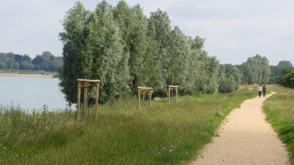 Radweg Ellerdonksee